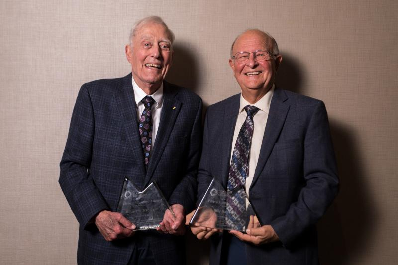 Former Lt. Governor Robert B. Jordan III and Rural Center Founding President Billy Ray Hall Honored with Lifetime Achievement Awards