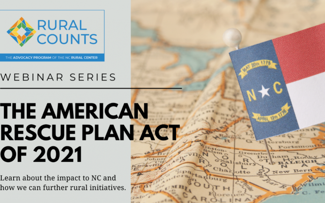 Rural Counts Webinar Series: The American Rescue Plan Act of 2021